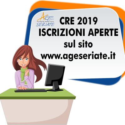 CRE 2019 – iscrizioni aperte