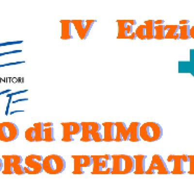 IV Corso di Primo Soccorso Pediatrico